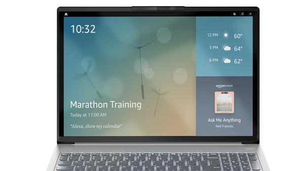 Echo Show Mode Turns Some Lenovo Laptops Into Alexa Smart Displays