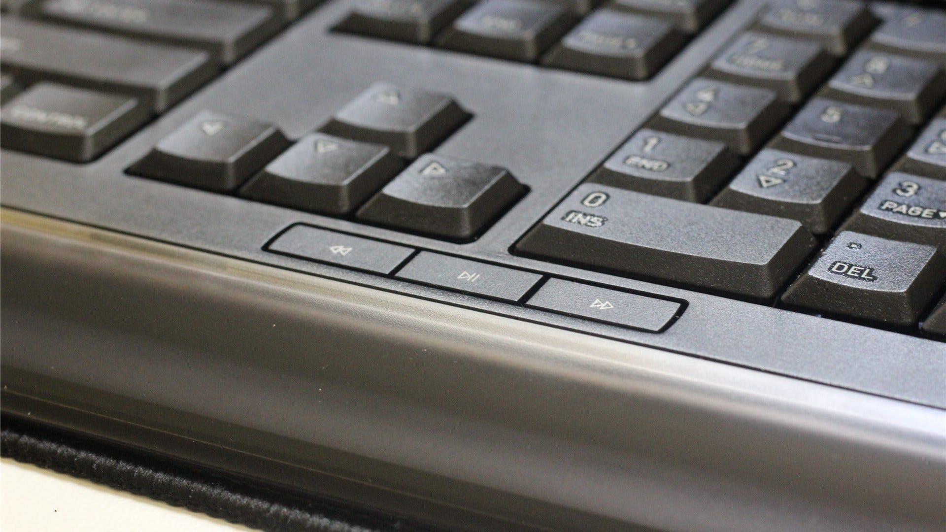 Gentix keyboard multimedia controls