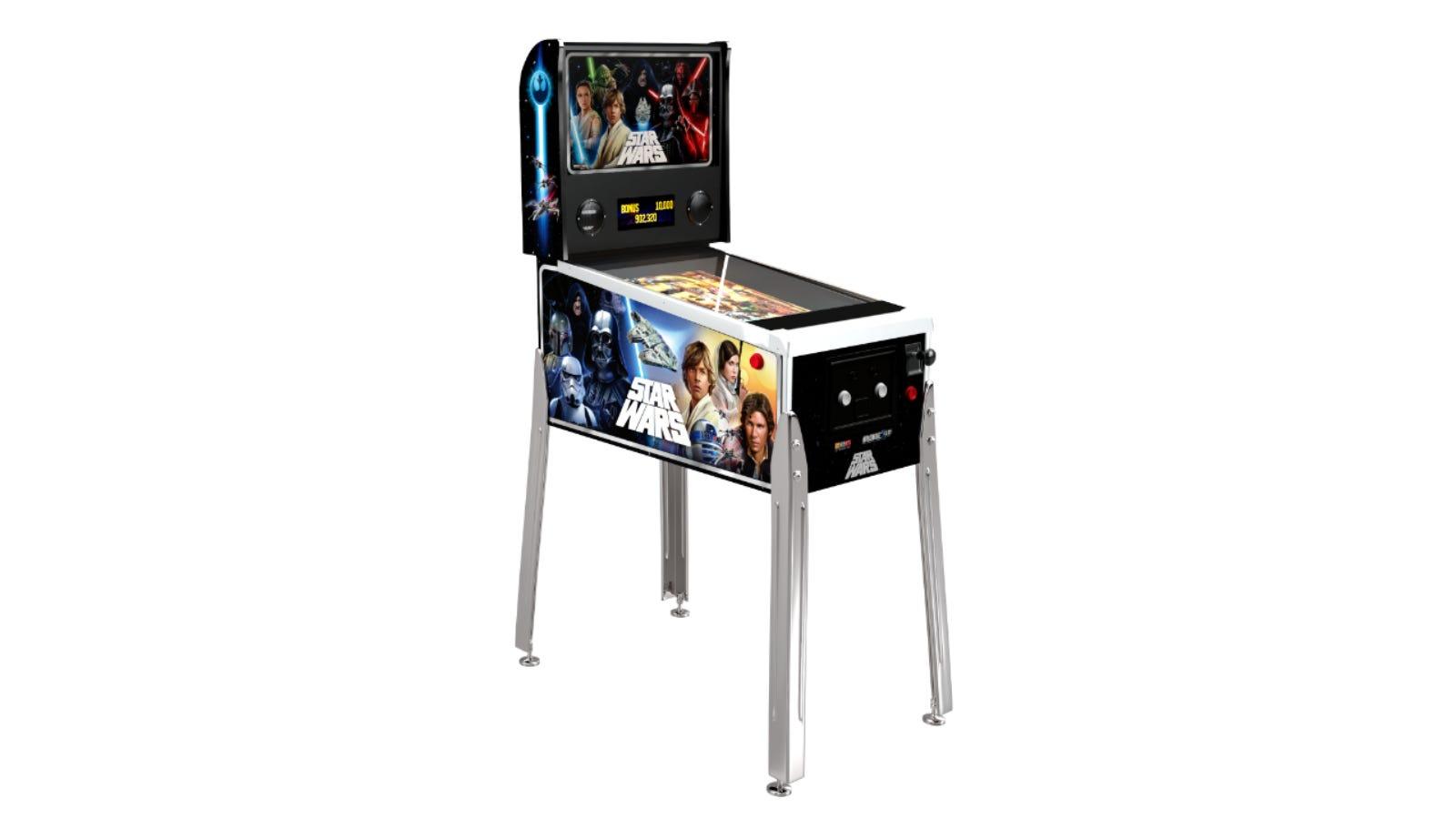 Arcade1Up Star Wars Pinball machine
