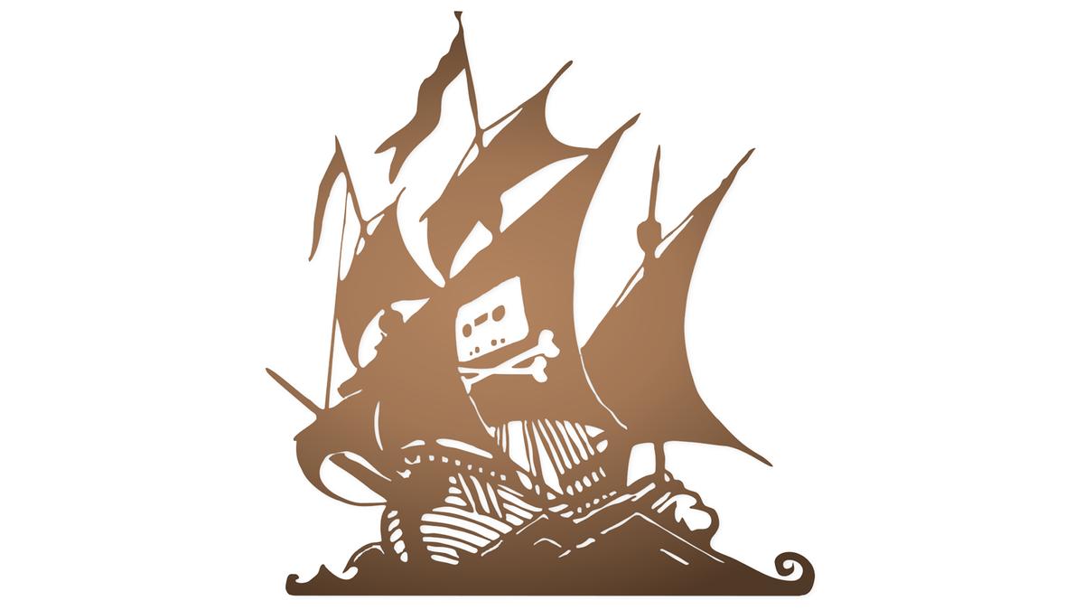 The Pirate Bay logo.