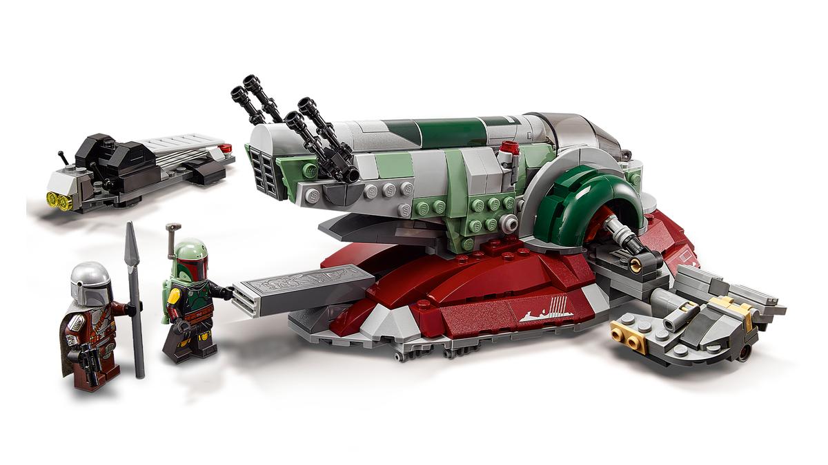 The new LEGO Boba Fett set.