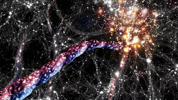 Astronomers Found An Enormous Rotating Structure in Space