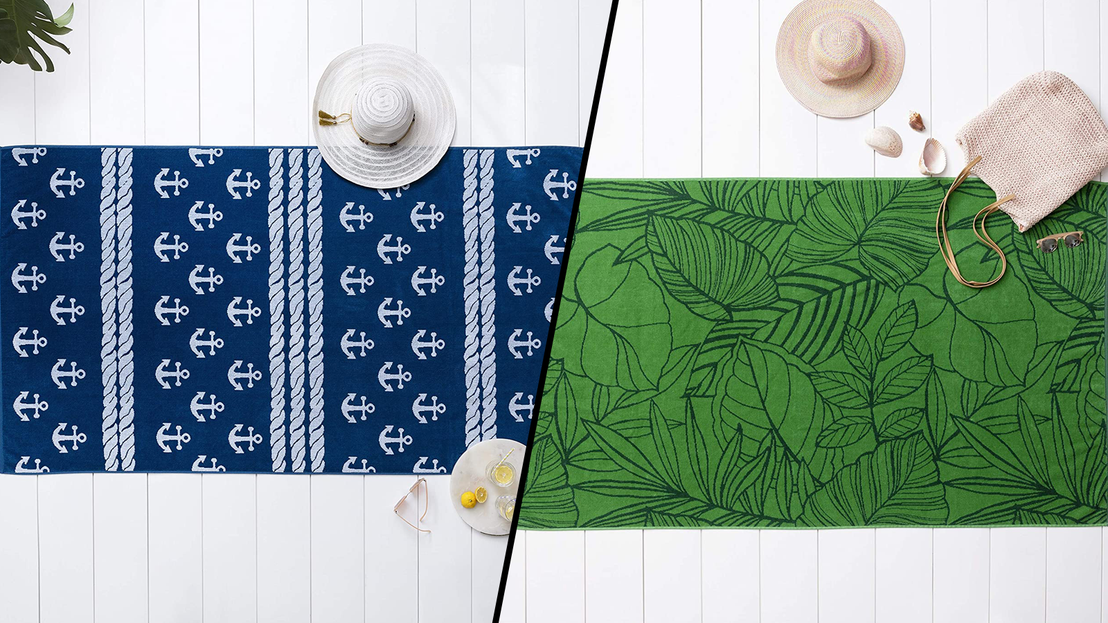 These Stylish Oversized Beach Towels Are Ready to Chill Poolside