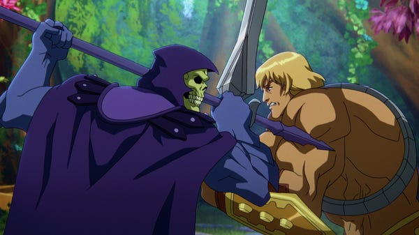 Netflix Has the Power! To Make He-Man Look Good in a Fur Thong