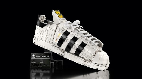 New LEGO Adidas Superstar Shoes Actually Look Like LEGO Sneakers