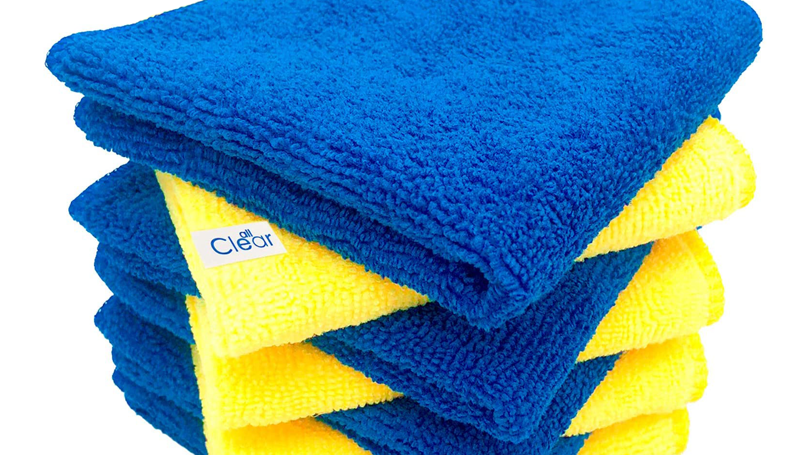 Make Cleaning Around the House Easier with These Microfiber Cleaning Cloths