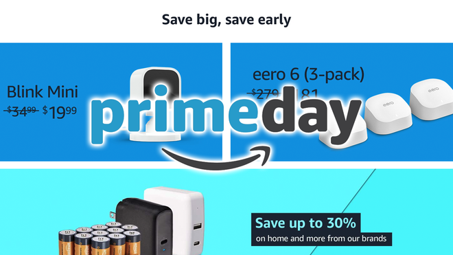 Check Out These Early Prime Day Deals on Smart Home Devices, Tablets, and More