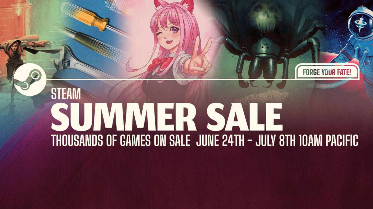 Steam Summer Sale promo art