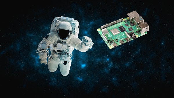 The Raspberry Pi's Latest Accomplishment is Keeping an Astronaut From Sleeping