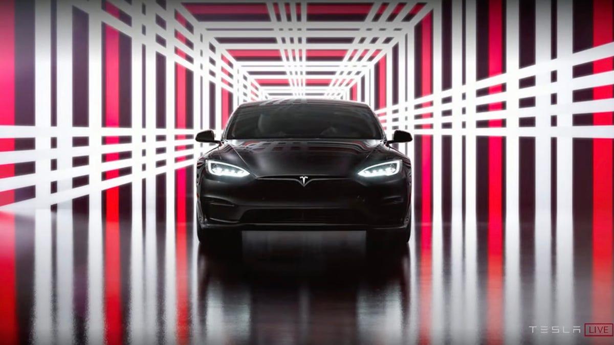 Tesla Model S Plaid delivery