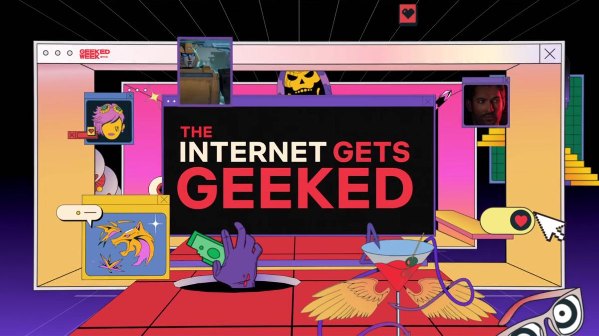 Geeked Week logo