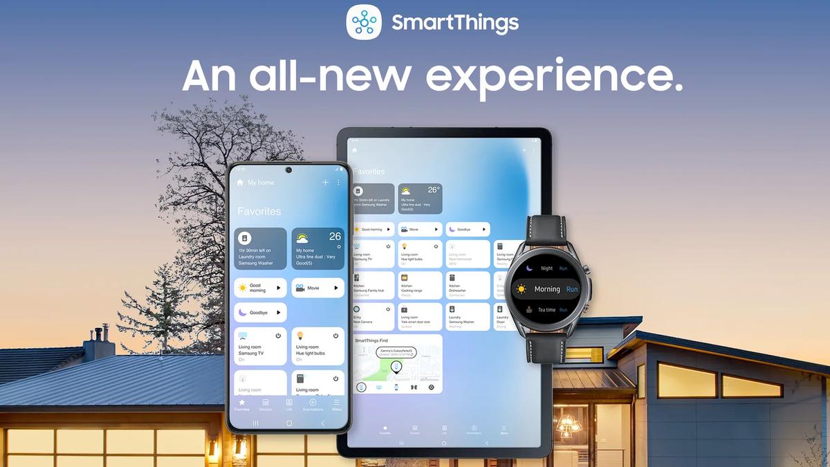 Samsung SmartThings banner.
