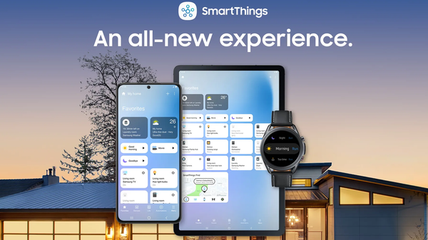 Samsung SmartThings App Gets a Fresh Redesign and Reorganized Device Controls