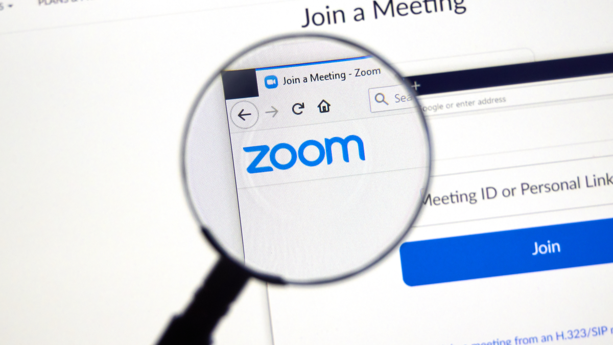 Zoom official website and logo
