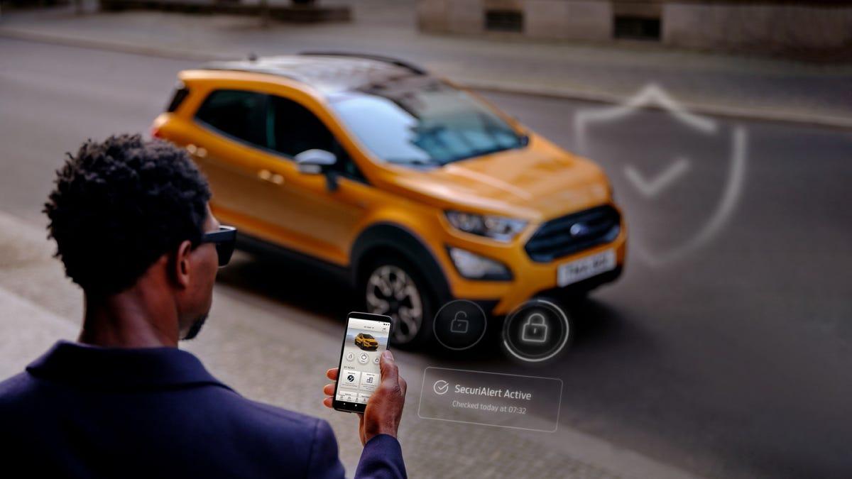 Ford SecuriAlert app