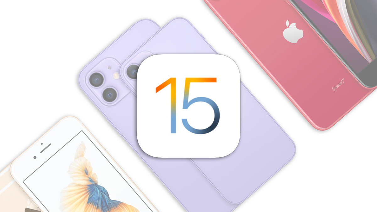The iOS 15 badge on some iPhones.