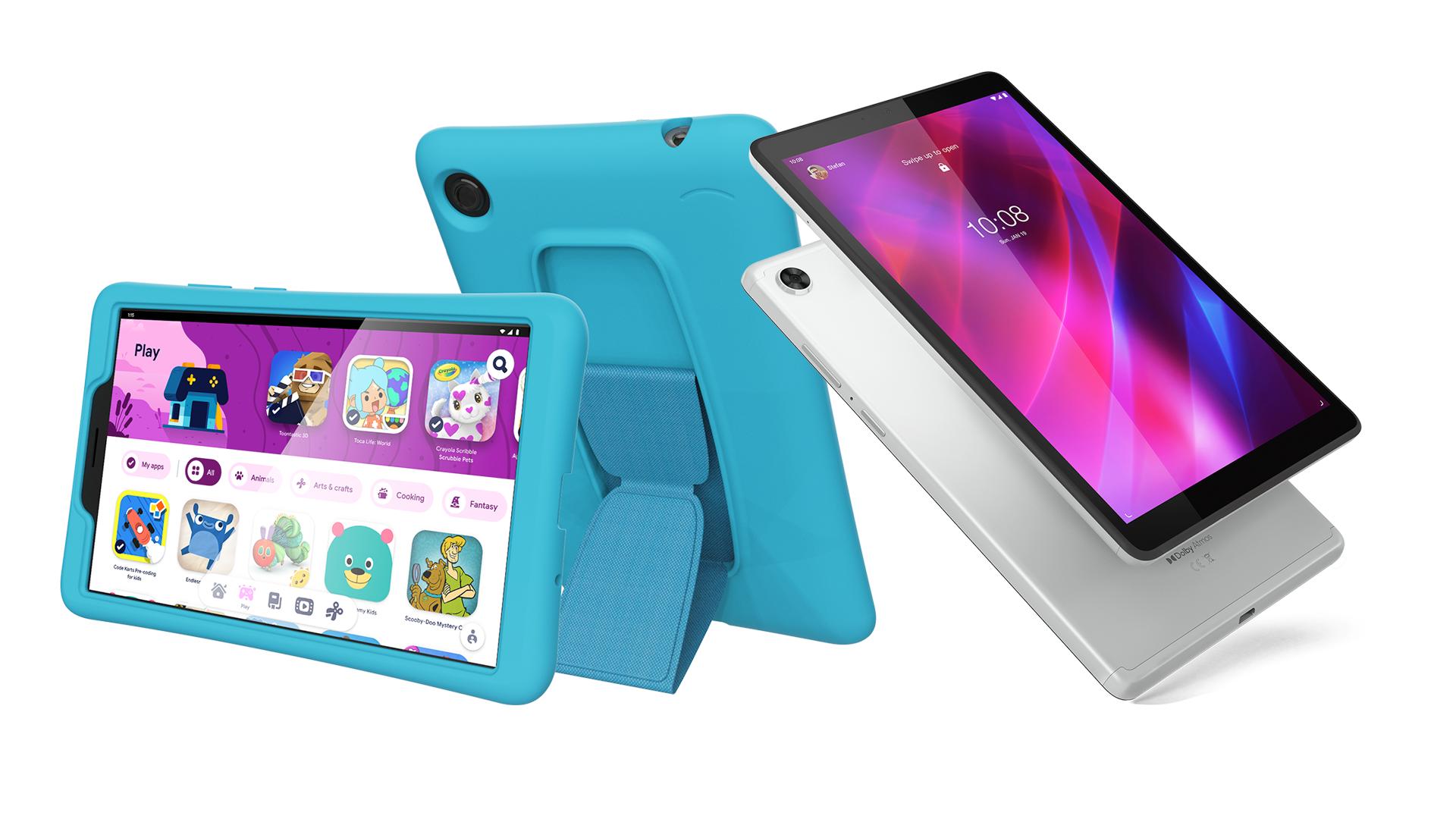 The Lenovo Yoga Tab M7 and M8 (Gen 3)
