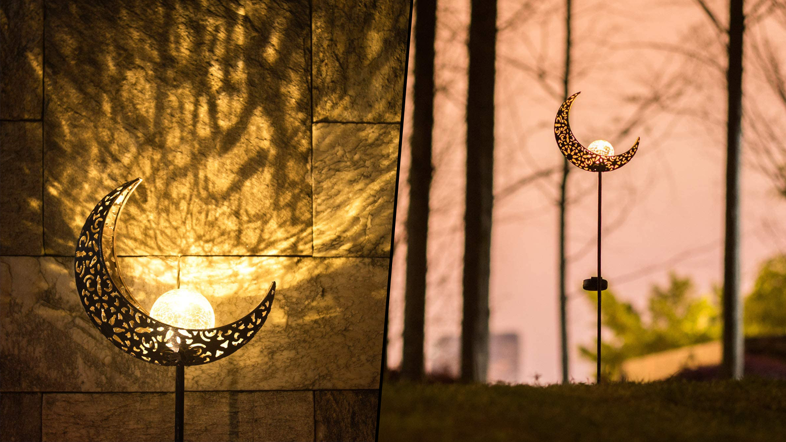 Shine a Light on Your Backyard Oasis with This Solar-Powered Garden Light