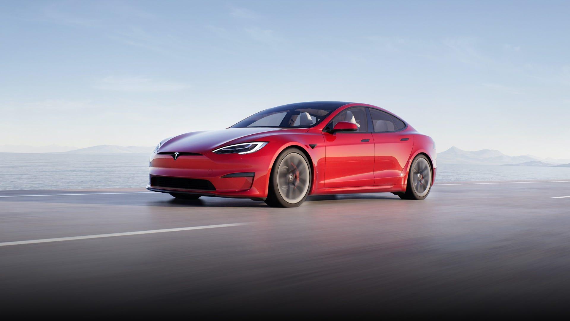 Fastest Tesla Model S Plaid