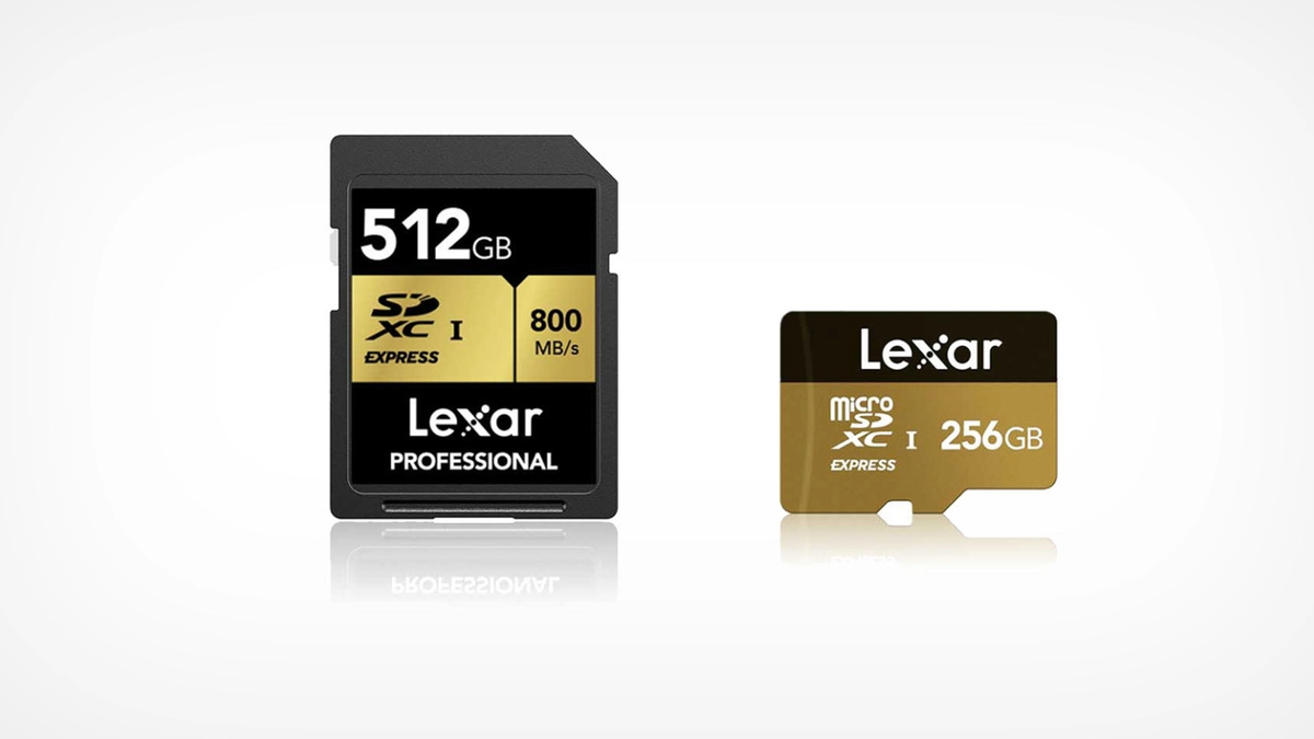Lexar's upcoming SDXC card and micro SD equivalent