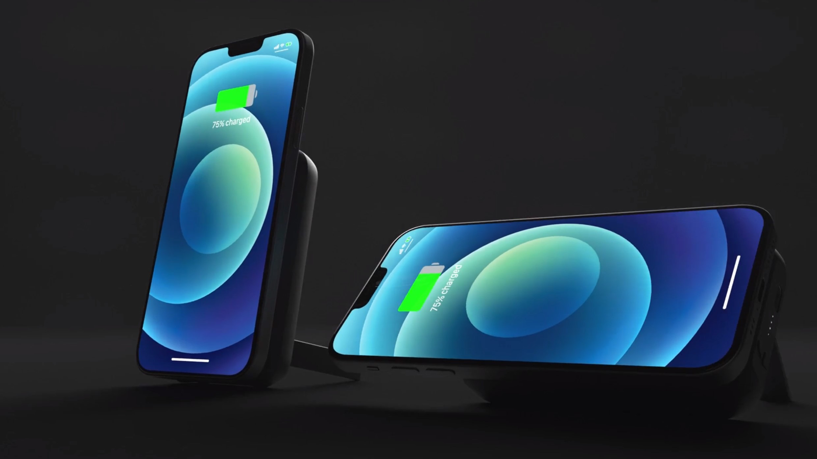 View of new Zens Magnetic Powerbank chargers