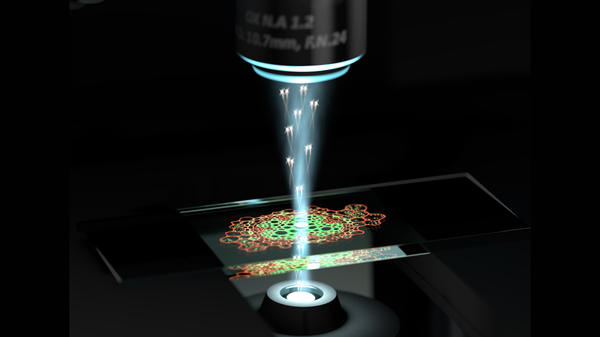 First Quantum Microscope Reveals Previously-Unseen Cell Structures
