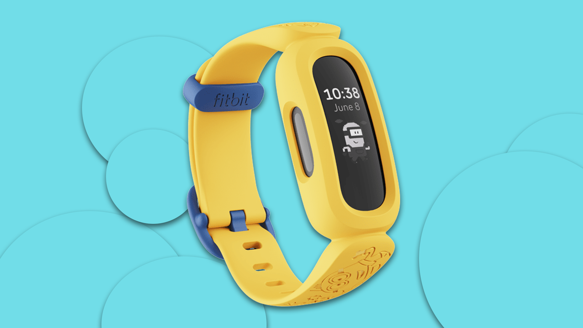 The Minions-themed Fitbit Ace 3
