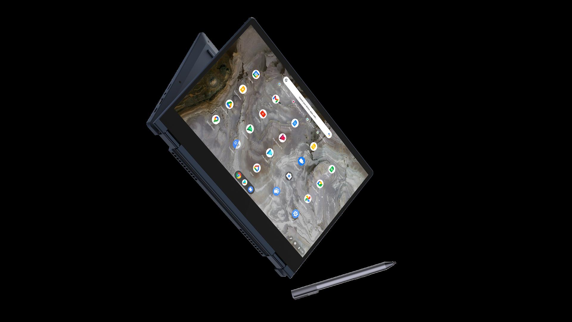 Lenovo Flex 5i Chromebook and Pen