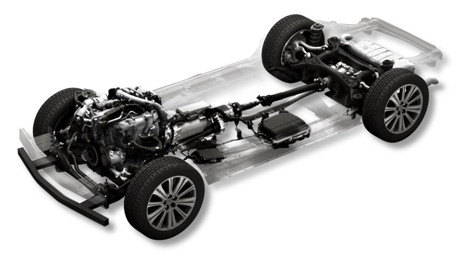 Mazda's Large Gasoline Engine 48V Mild hybrid