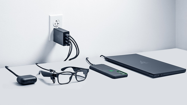 Razer's 130-Watt GaN Adapter Supercharges Your Laptops and Phones Simultaneously