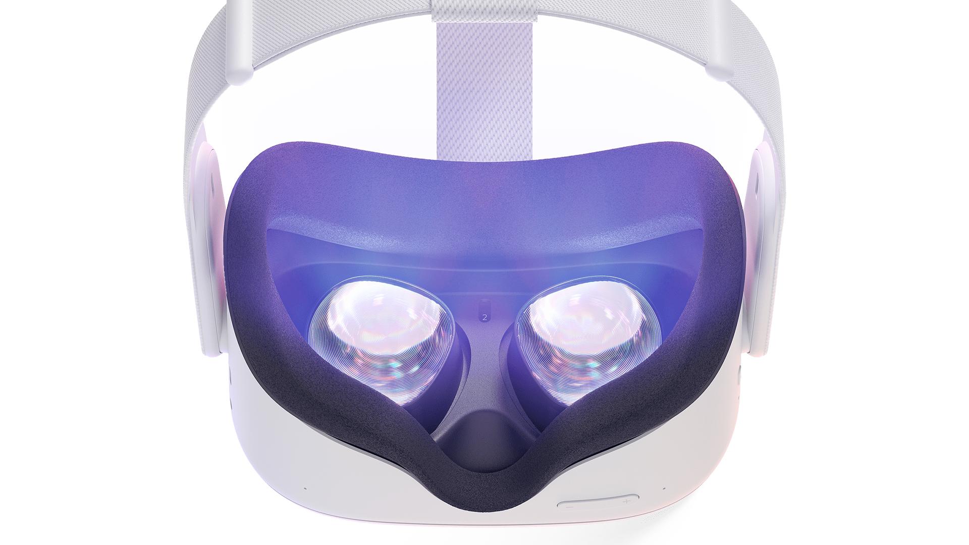 A Virtual Reality head set.