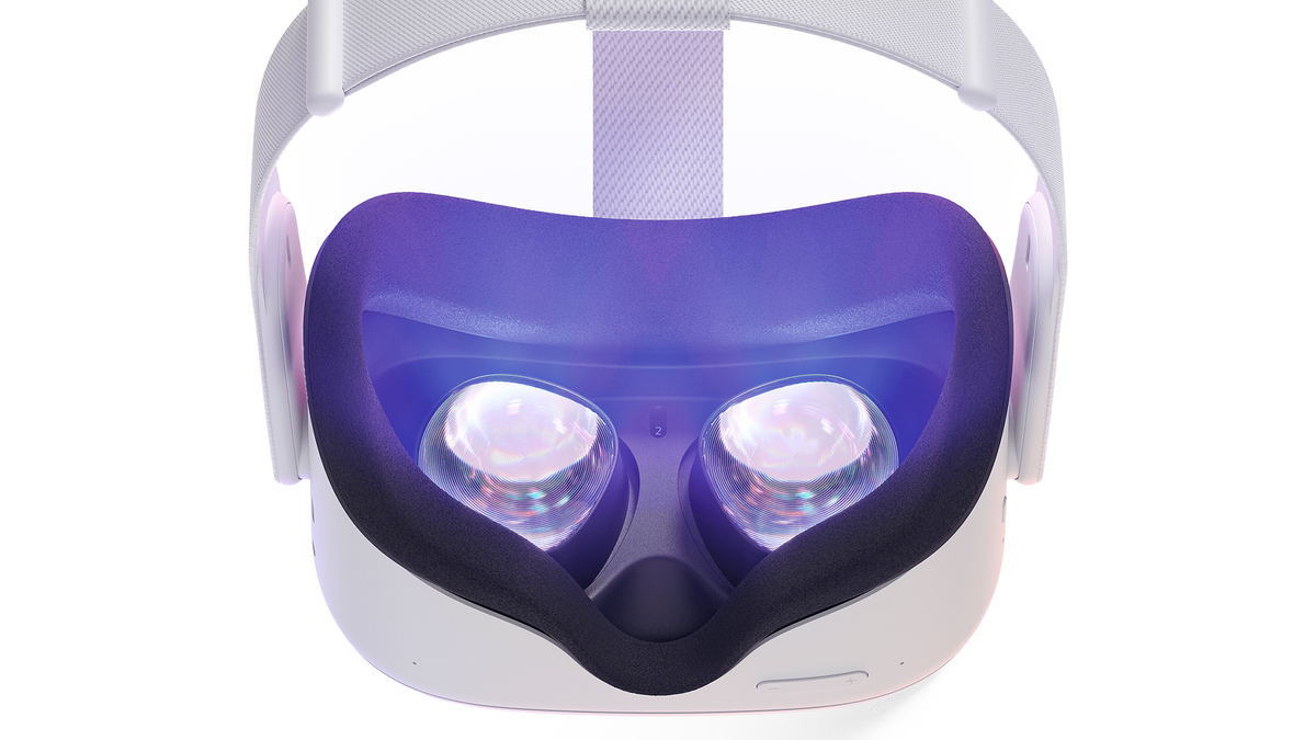 A photo of the Oculus Quest.