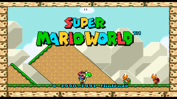 Try Out 'Super Mario World' in Widescreen While You Still Can
