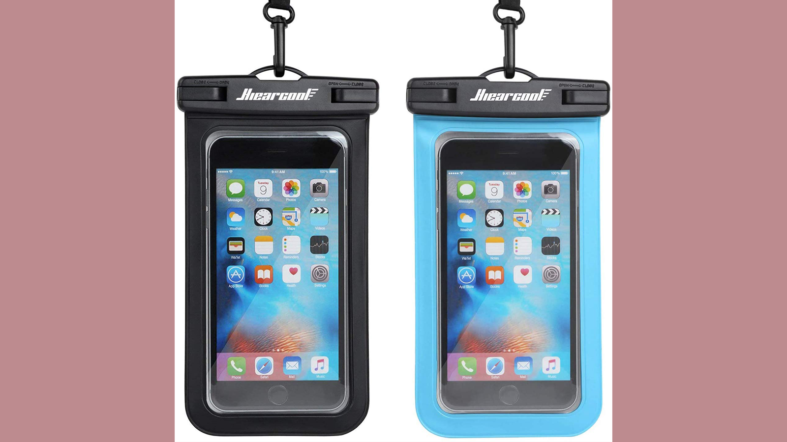 Keep Your Phone Dry At the Beach or Pool with This Waterproof Phone Case