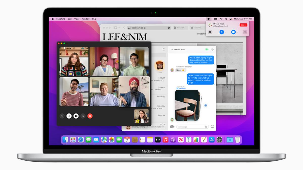 Apple's new macOS Monterey