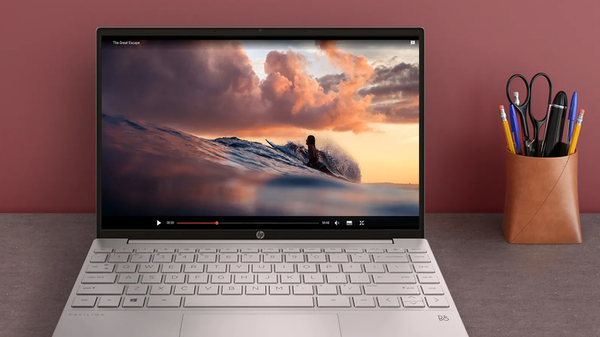 HP's New Pavilion Aero 13 Is Almost More Screen Than Body