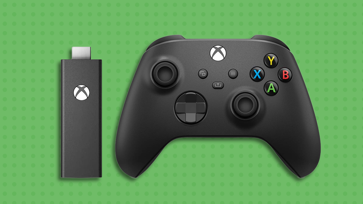 A mockup of the Xbox streaming stick.