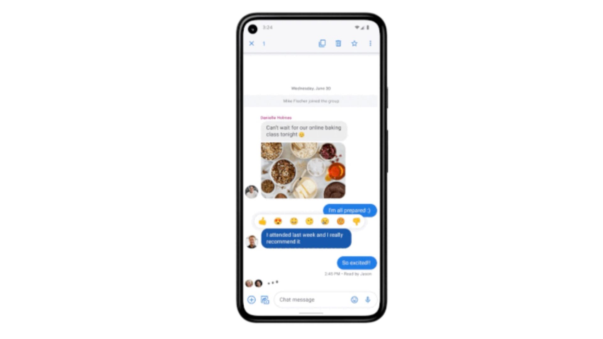 Google Messages features