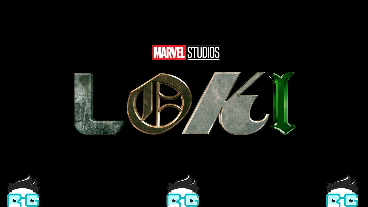 The Loki Logo and three Review Geek logos