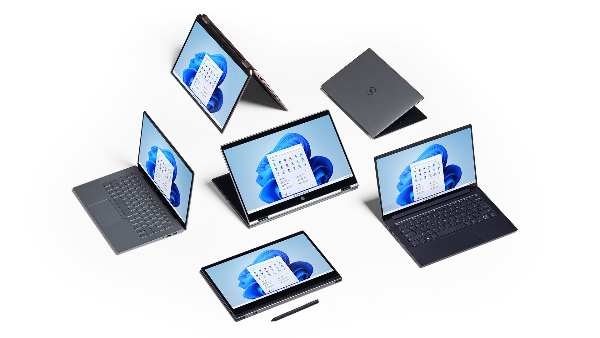 Several devices running Windows 11