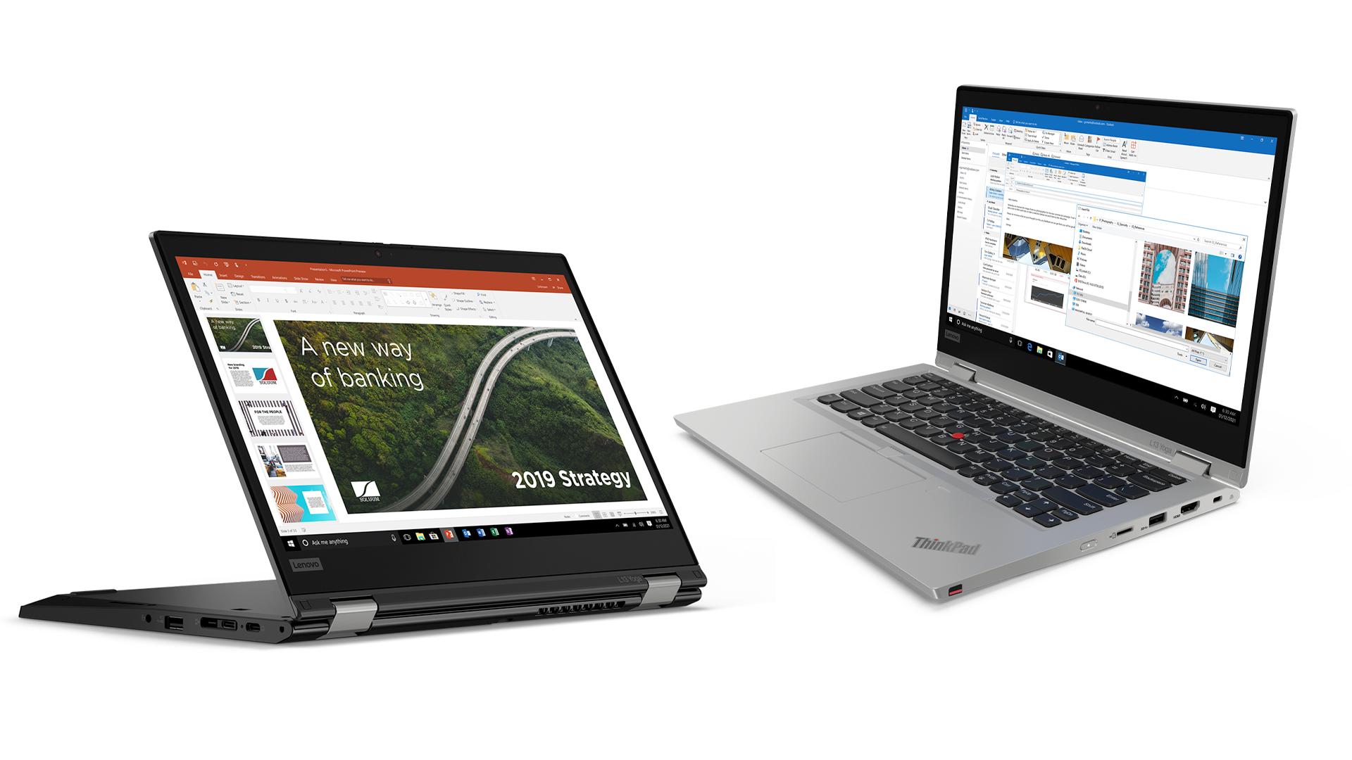 The Lenovo L13 and L13 Yoga