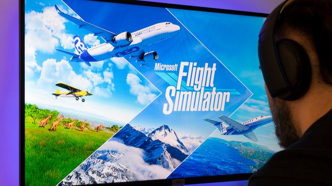 See the Colorful LEGO House in the Latest 'Microsoft Flight Simulator' Update