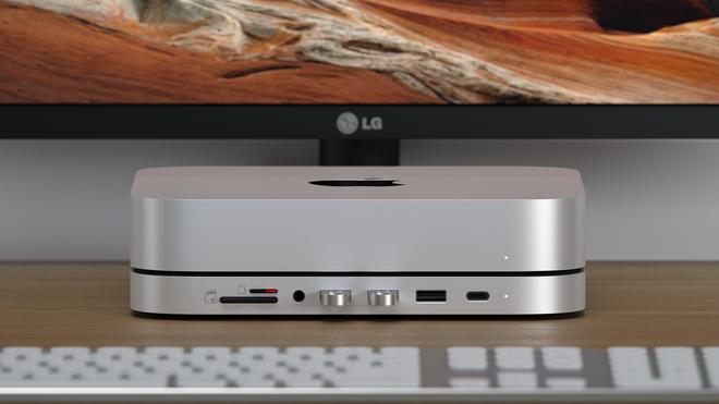 Satechi's New M1 Mac Mini Hub Has a Built-In SSD Enclosure
