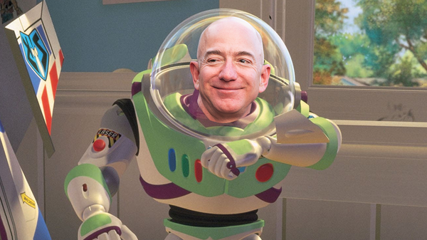 Jeff Bezos Will Fly Into Space This July After Stepping Down as Amazon CEO