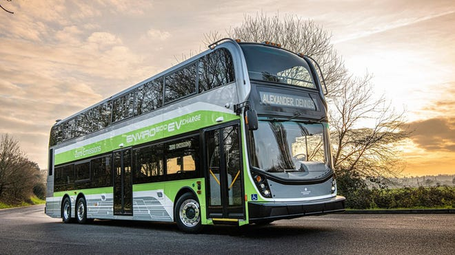 The Double Decker Bus is Goin' Electric and Cruisin' to the U.S.
