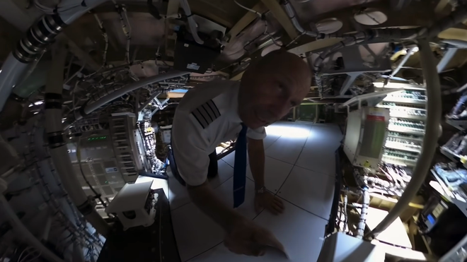 This Video Reveals Secrets from the Airbus 350, Like a Below-Cockpit Server Room