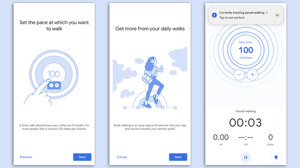 Walk to a Beat With Google Fit's New Paced Walking Activity