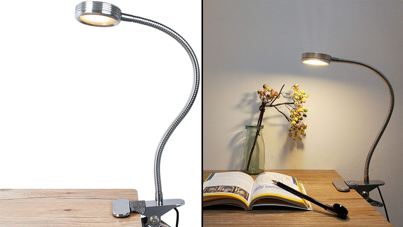 This Lamp Can Clip On to Virtually Any Surface and Works in Any Room