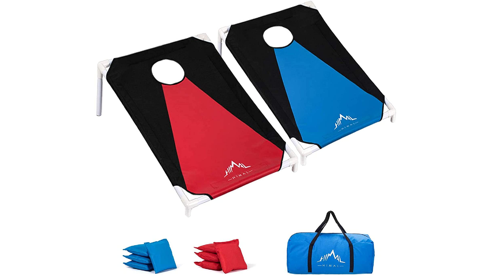 This PVC Cornhole Set is the Perfect Portable Family Game for Summer