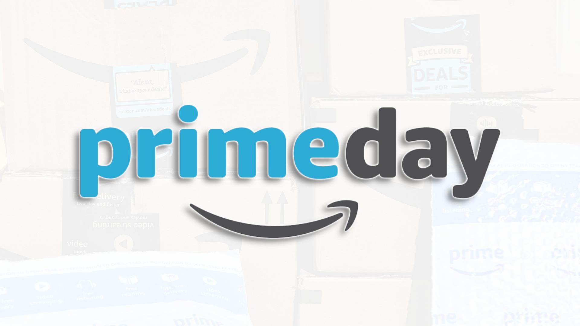 A Prime Day logo.